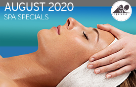 August 2020 spa specials